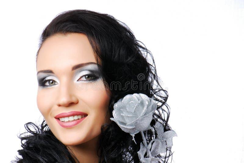 rose srebra fotografia stock