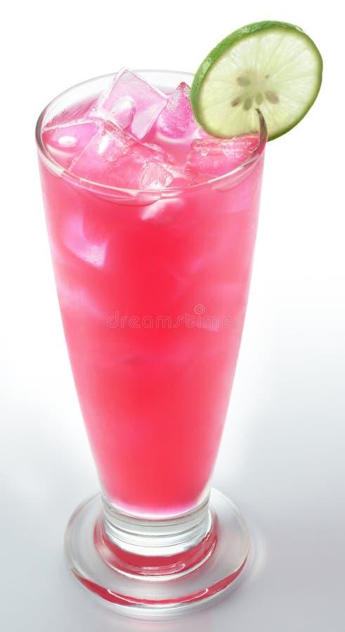 Rose Syrup com cal foto de stock