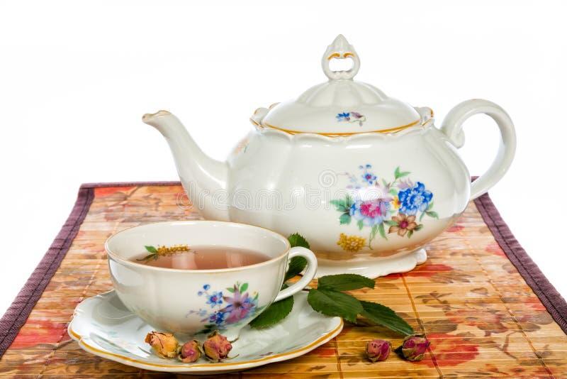 Download Rose Tea stock afbeelding. Afbeelding bestaande uit close - 54087001