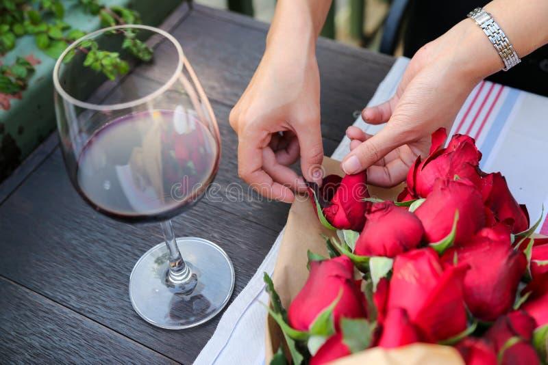 Rose Valentine royalty-vrije stock foto