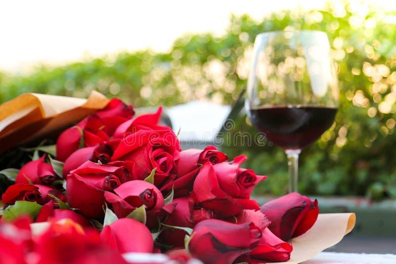 Rose Valentine stock fotografie