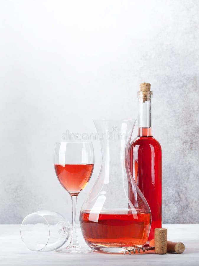 Rose Wine stockbild