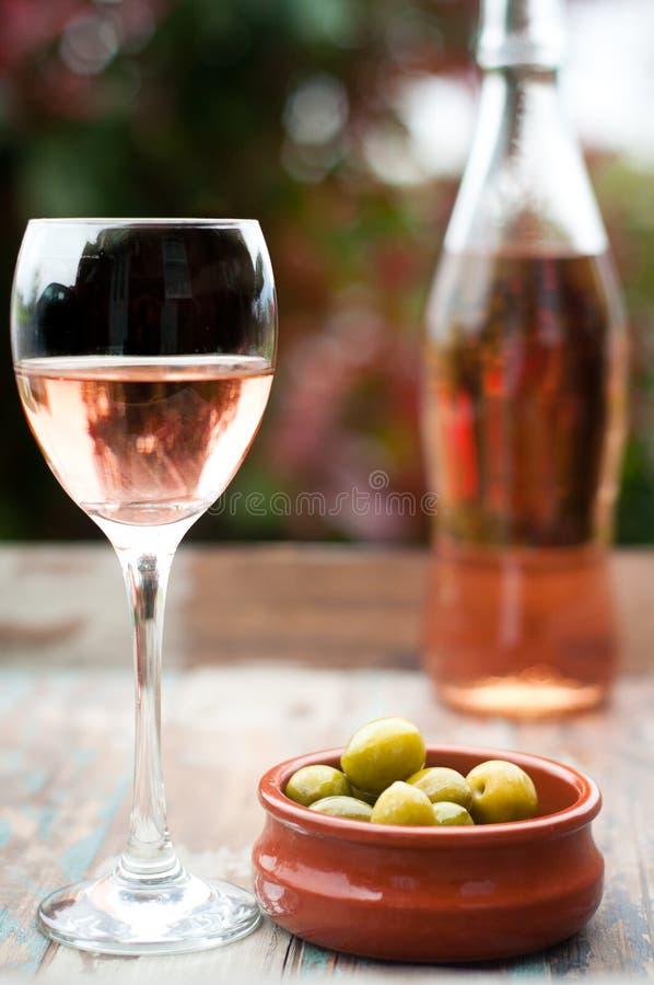 Rose Wine photographie stock libre de droits