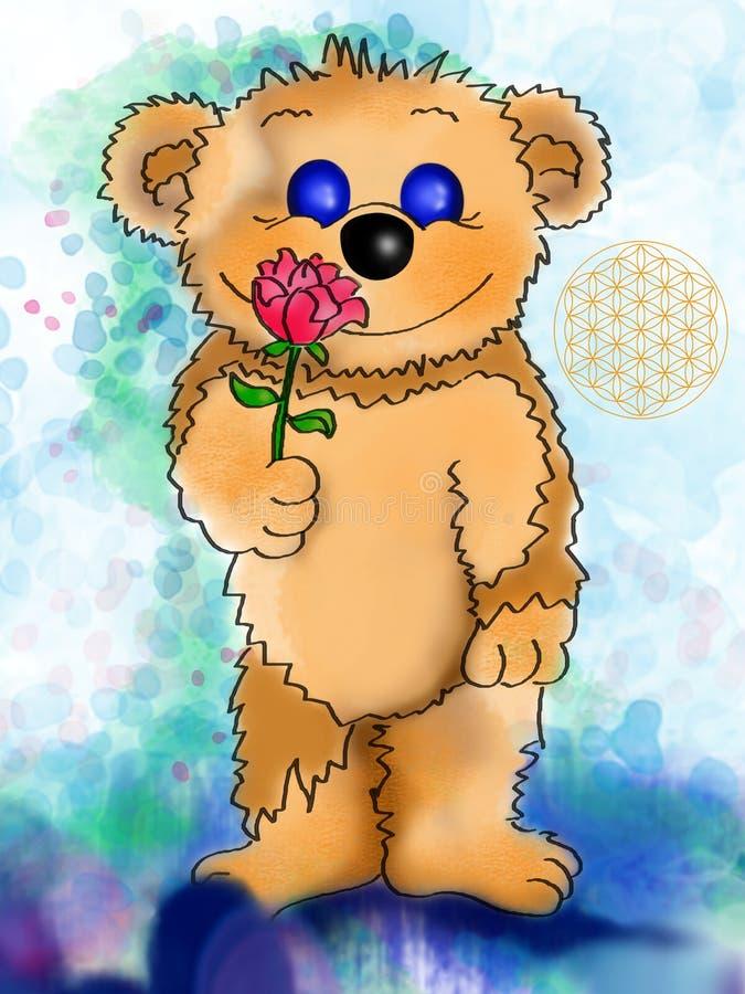 Download A rose for you stock illustration. Illustration of give - 8692387
