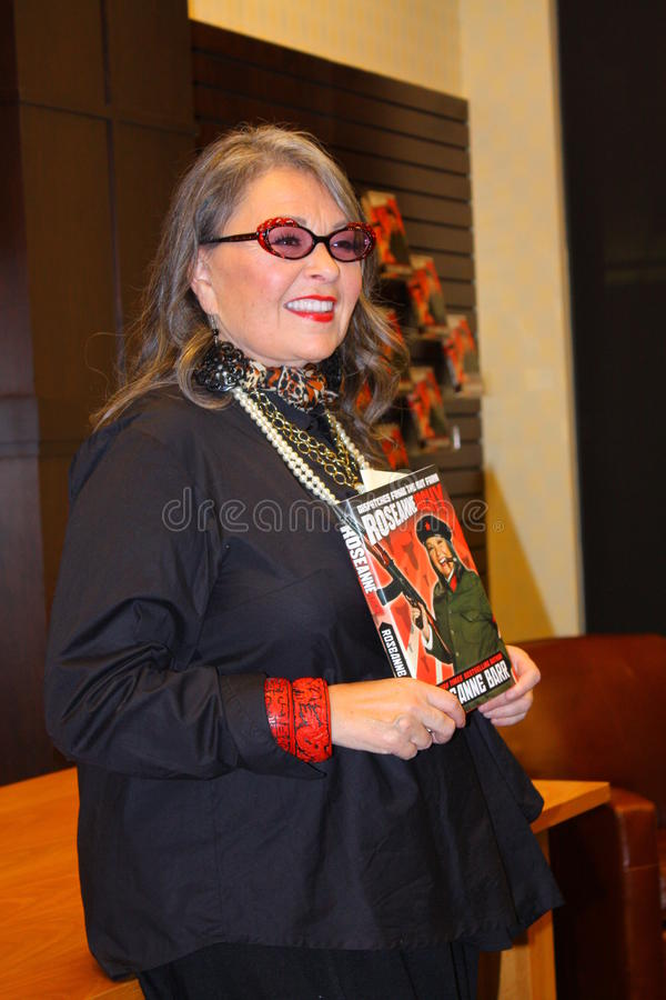 Roseanne Barr stock foto