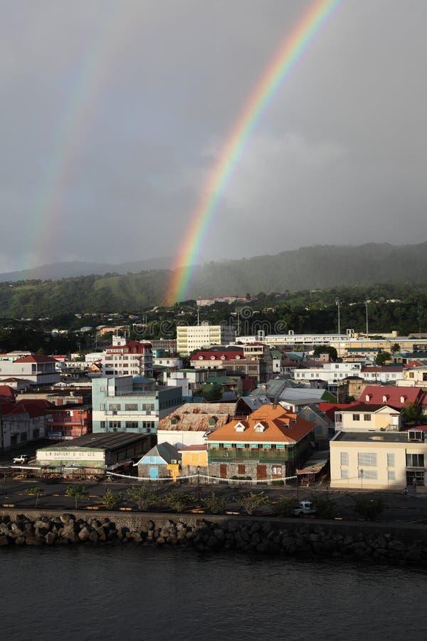 Roseau, Domínica, ilhas das Caraíbas foto de stock royalty free