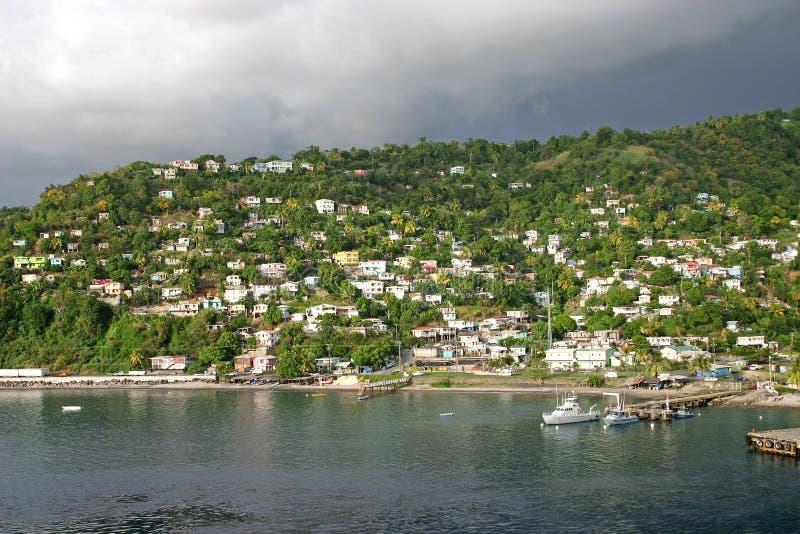 Roseau, Dominica fotos de stock