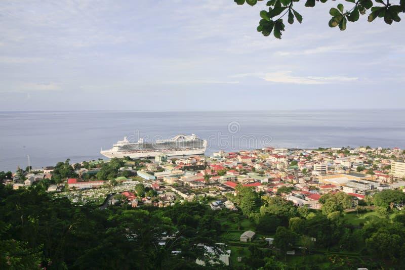 Roseau, Dominica foto de archivo