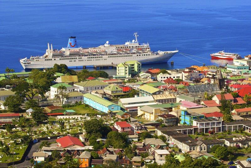 Roseau, Dominica imágenes de archivo libres de regalías