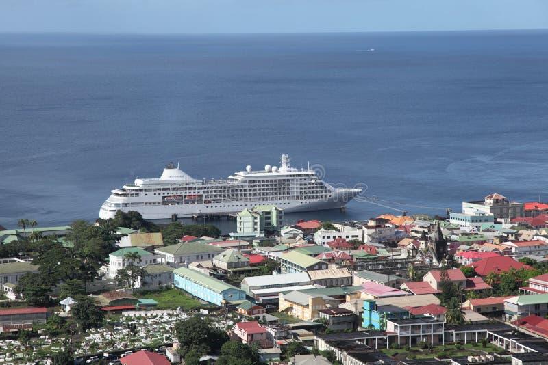 Roseau, Dominica, Caraïbische Eilanden royalty-vrije stock fotografie
