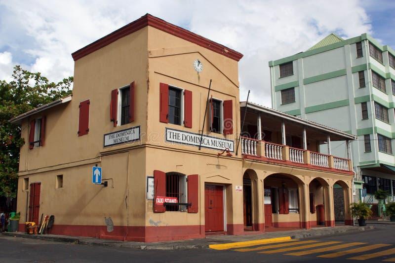 Roseau, Dominica, caraibica immagine stock libera da diritti