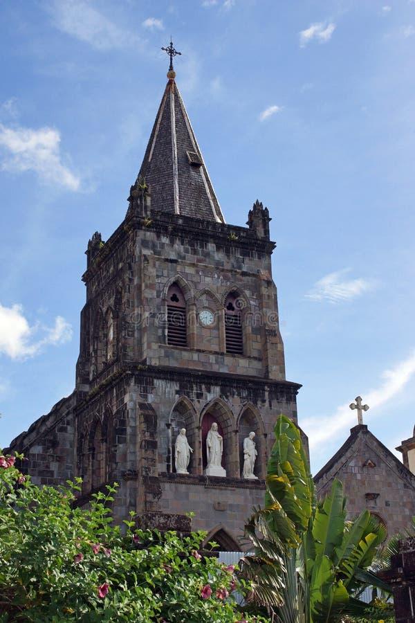 Roseau, Dominica, Caribbean royalty free stock photos