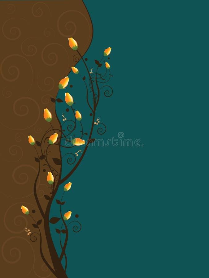 Rosebuds ilustração royalty free