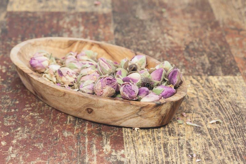 Rosebuds secados foto de stock royalty free