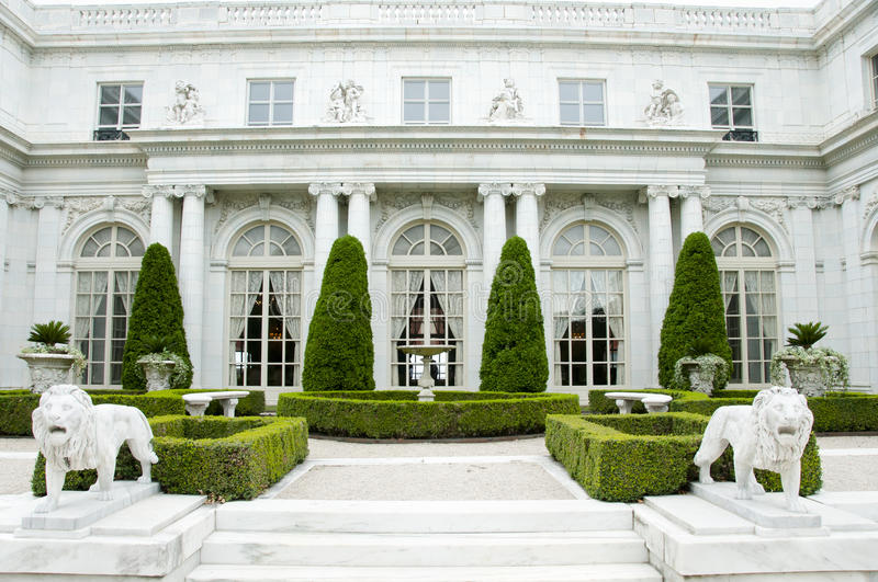 Rosecliff Mansion - Newport - Rhode Island royalty free stock images