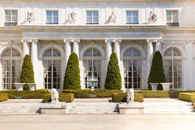 Rosecliff Mansion Newport Rhode Island stock photo
