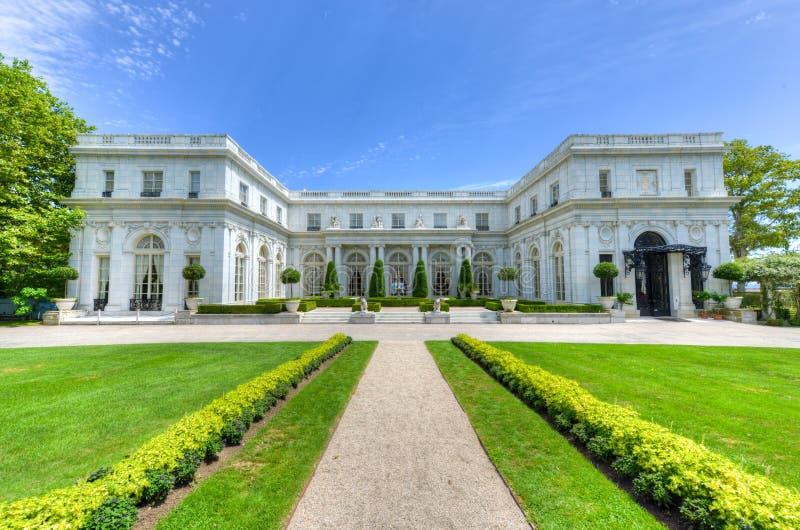 Rosecliff Mansion Newport Rhode Island Stock Photo