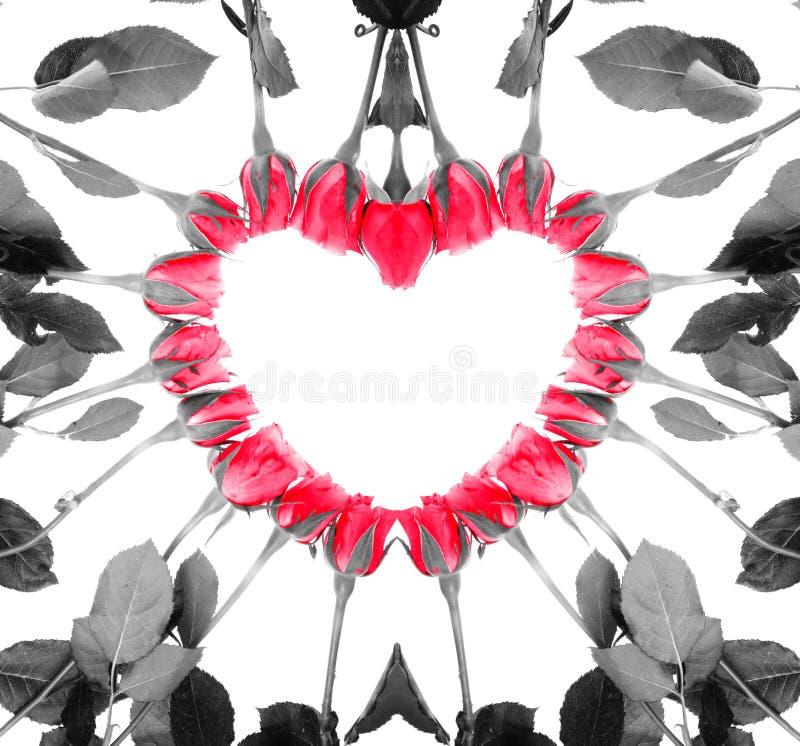Roseheart stock illustratie