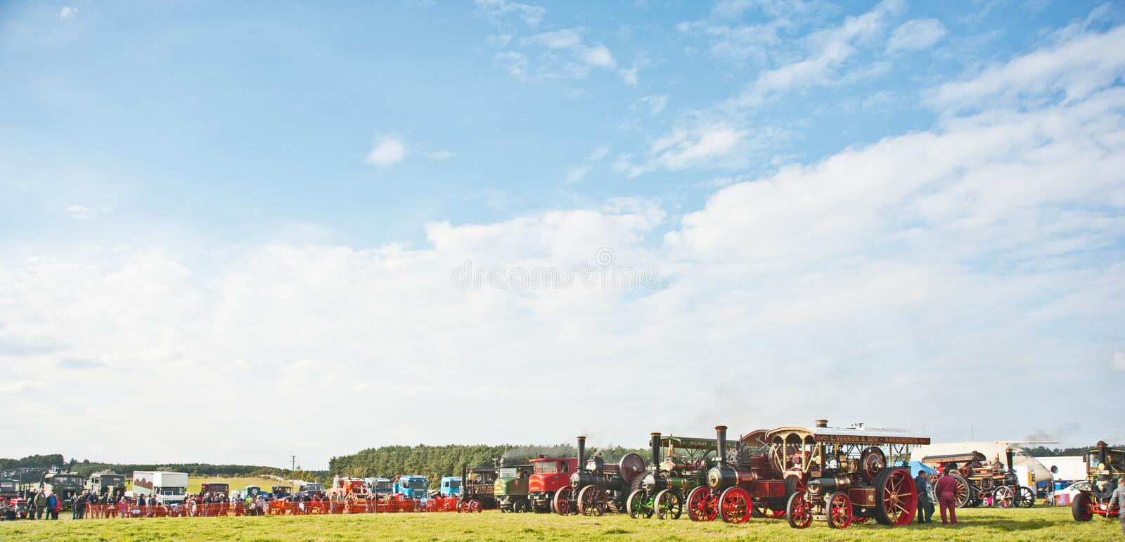Download Roseisle Steam Traction Engine Rally  ! Editorial Image - Image: 26908315