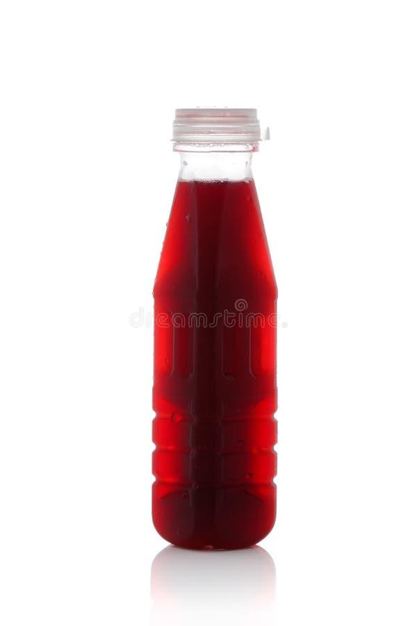Roselle sok odizolowywający na białym tle zdjęcia royalty free
