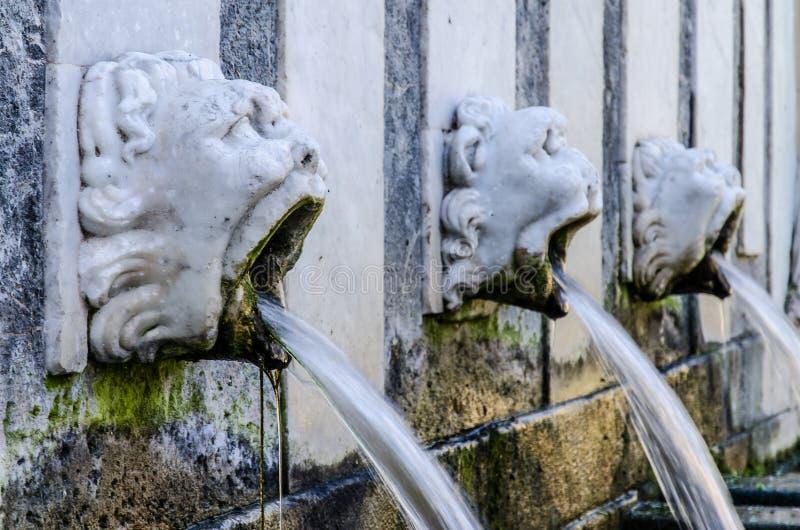 rosello的喷泉, Sassari,撒丁岛 免版税库存图片