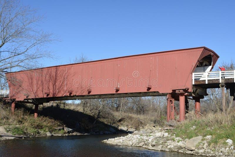 Roseman Covered Bridge royalty free stock image