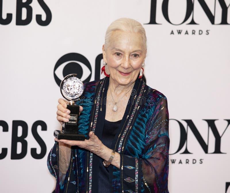 Rosemary Harris Awarded Special Honor på Tony Awards 2019 royaltyfri foto