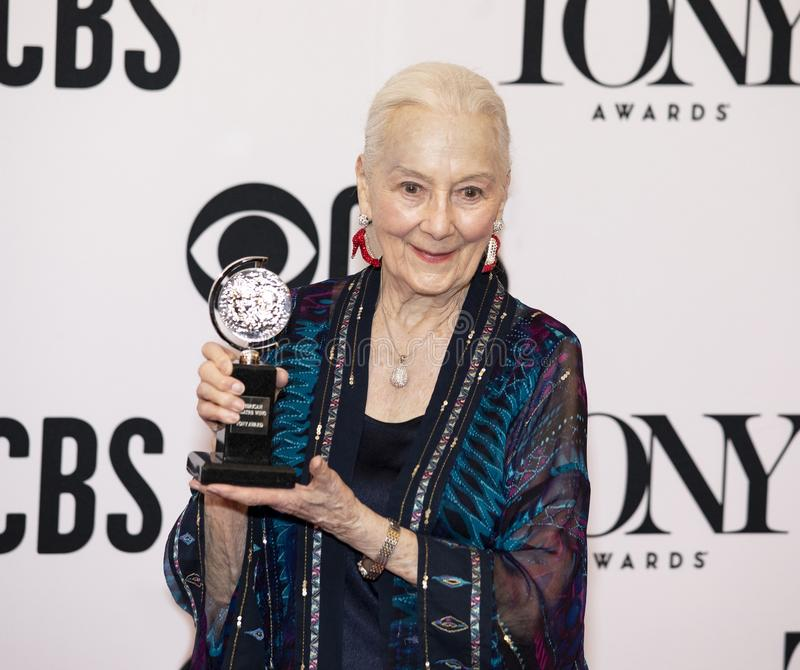 Rosemary Harris Awarded Special Honor a Tony Awards 2019 fotografia stock libera da diritti