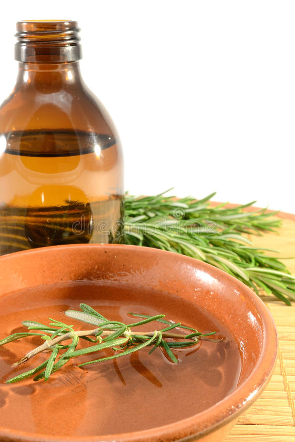 Rosemary oil stock images