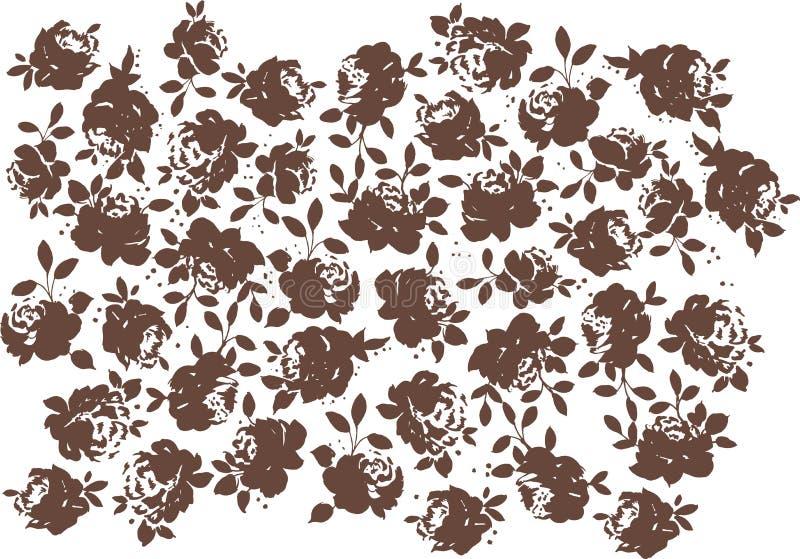 Rosen-Muster stock abbildung