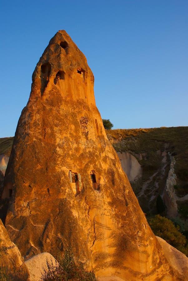 Rosen-Tal - Cappadocia, die Türkei lizenzfreies stockbild