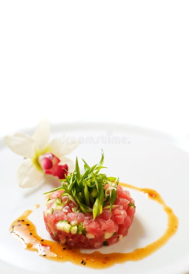 Rosen-Thunfischweinstein stockfotos