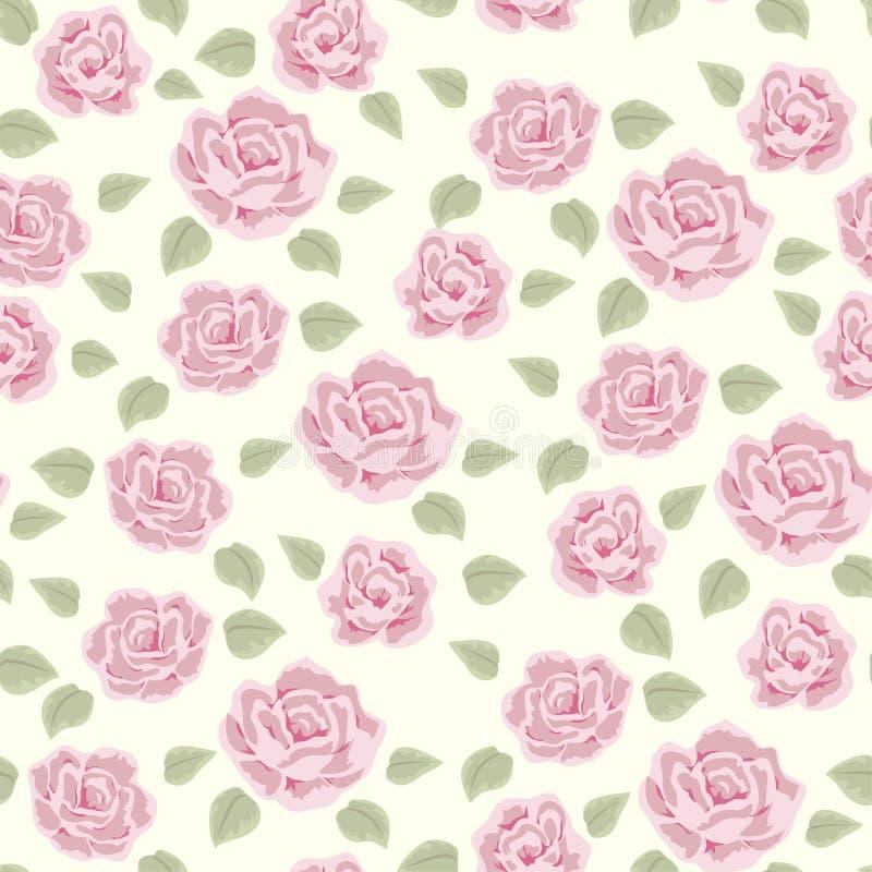 Rosen- und Beerenmuster 3 stock abbildung