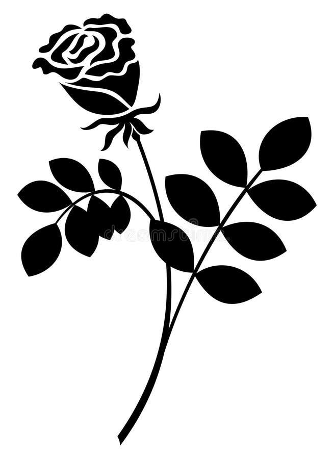 Rosen-Zeichen lizenzfreie abbildung