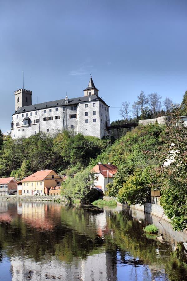 Rosenberg Schloss stockbild
