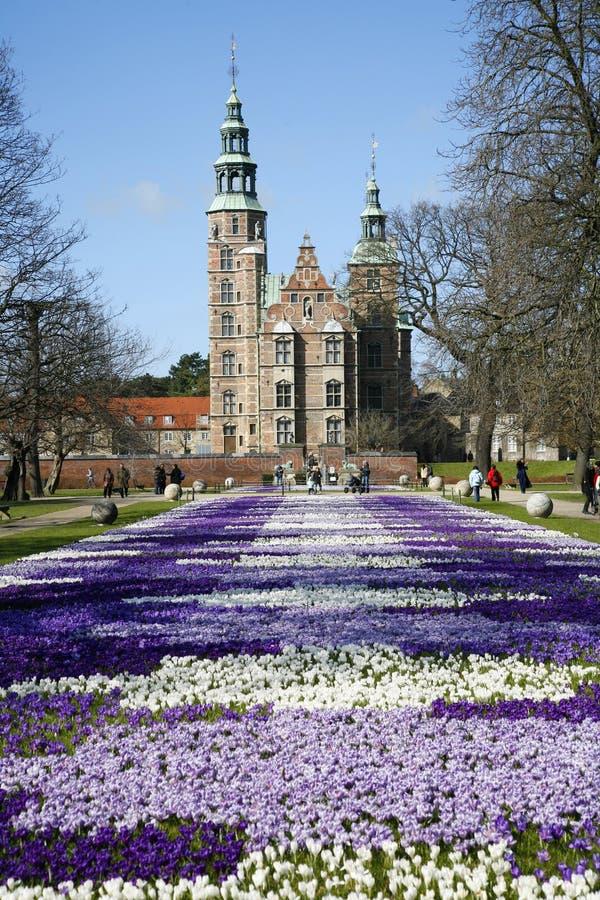 Rosenborg Copenhaga foto de stock