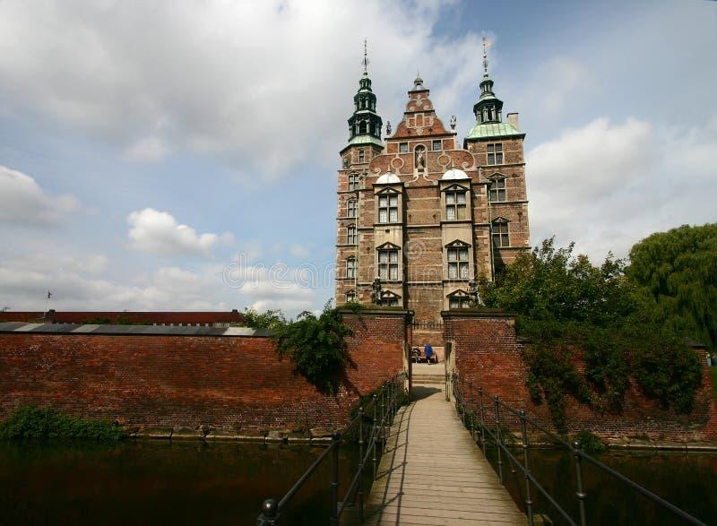 Rosenborg del castillo foto de archivo