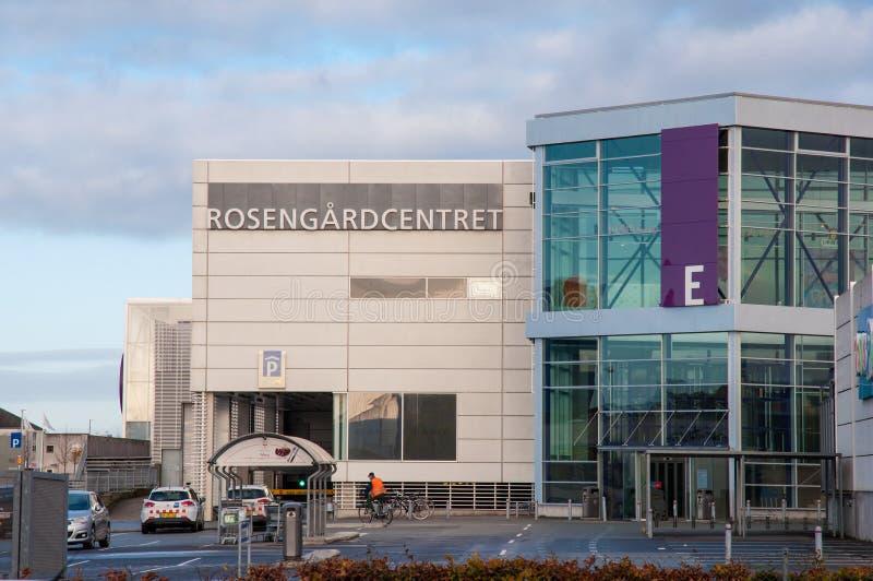 Rosengaard shopping mall stock photo