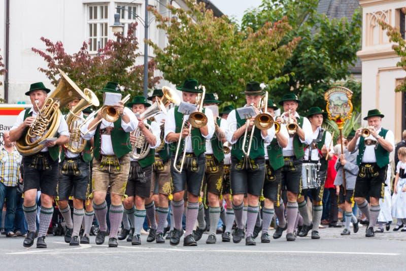 Rosenheimer Herbstfest royaltyfri foto