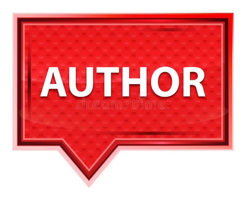 Rosenrosa-Fahnenknopf des Autors nebelhafter lizenzfreie abbildung