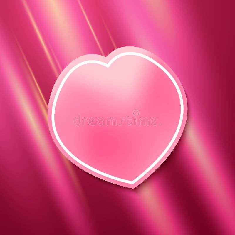 Rosepetal. Background for catalog spa & wellness products & cosmetics on a pink rose petal. Vector illustration EPS 10 for website or flyer, presentation royalty free illustration
