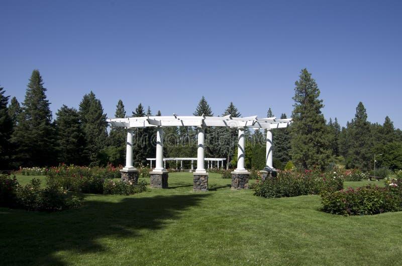 Roseraie Spokane photo stock