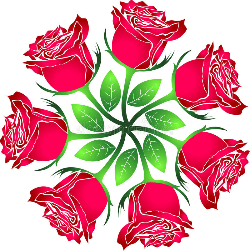Download Roses stock vector. Image of idea, celebration, floral - 19070008
