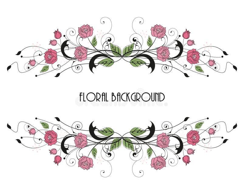 Roses stock illustration