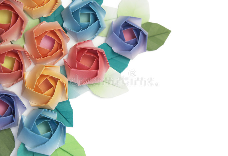 Download Roses stock photo. Image of origami, valentine, japanese - 4064136