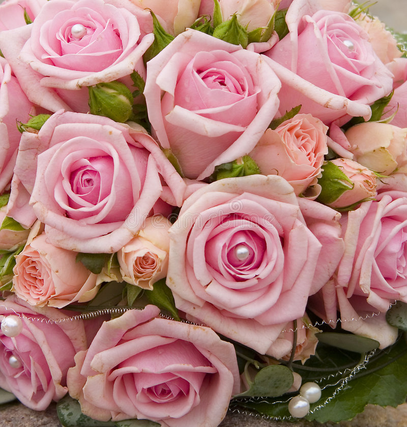 Download Bride Bouquet With Roses.JH Stock Photo - Image: 502806