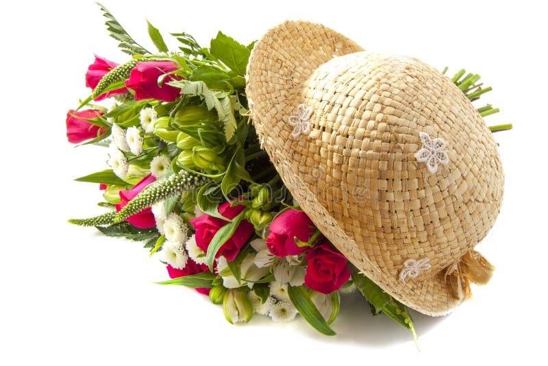 Roses avec amour photographie stock libre de droits