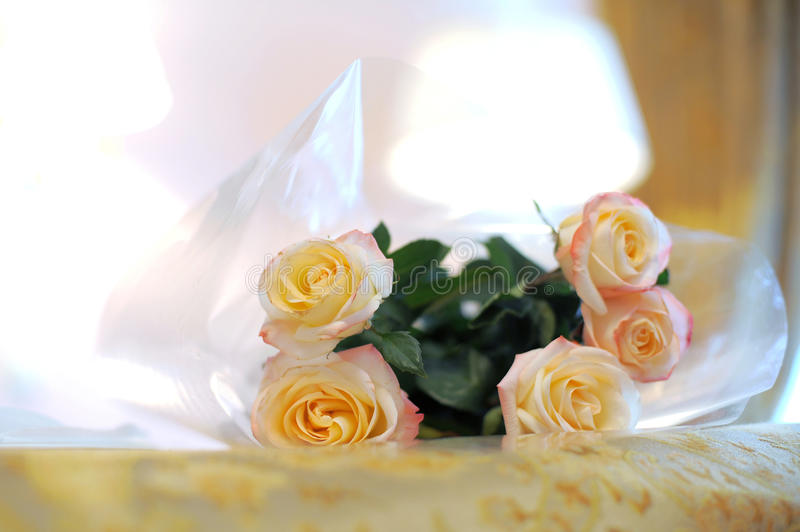 Download Roses on Bed stock photo. Image of decoration, party - 30498182