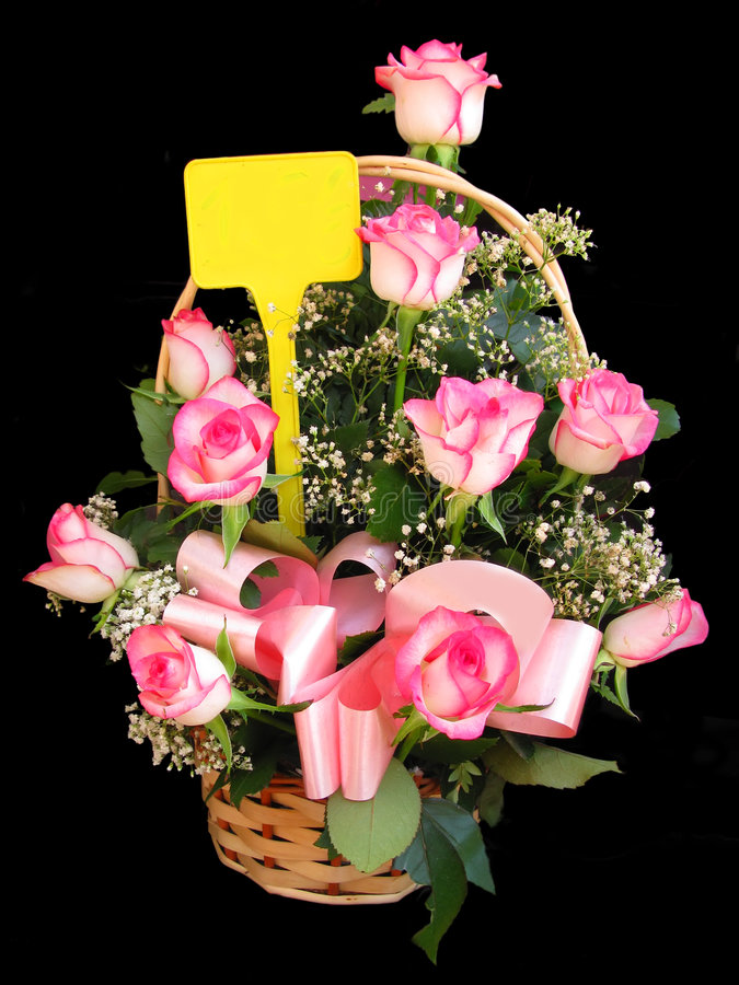 Roses bouquet stock photo