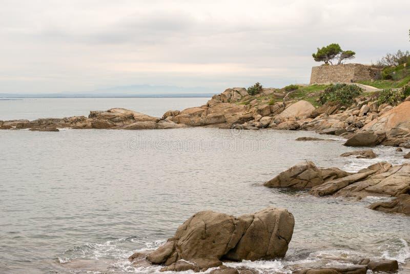 Roses - Costa Brava - Gérone, Espagne images libres de droits